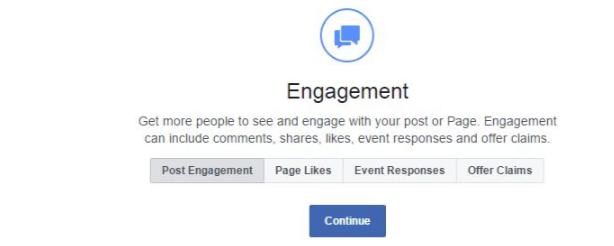 Engagement objective